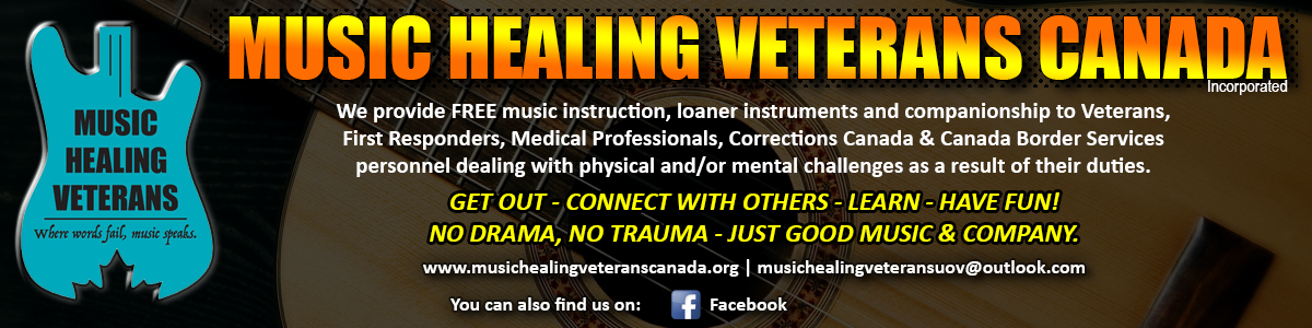 Music Healing Veterans Canada - Free Music Instruction For